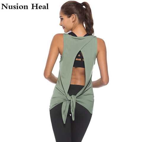 Women Sports Yoga Tank Tops
