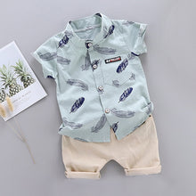 Load image into Gallery viewer, Toddler Boys Tee & Khaki Set