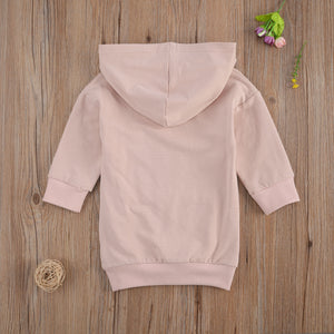 Baby Girl Long Sleeve Hoodie Dress