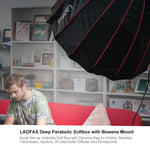 Load image into Gallery viewer, LAOFAS Deep Parabolic Softbox