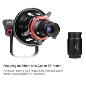 LAOFAS Spotlight Mount Light Modifier With 85mm Lens