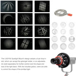 Load image into Gallery viewer, LAOFAS Spotlight Mount Light Modifier With 85mm Lens