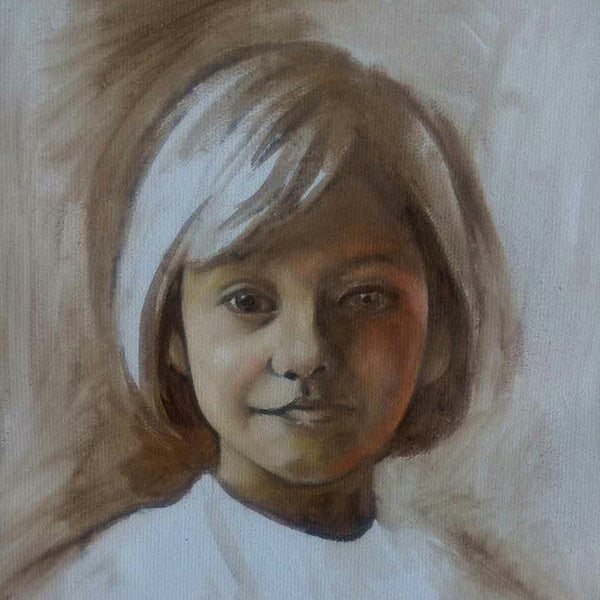 Original portrait painting