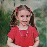 Custom oil painting on canvas Hand Painted custom portrait oil painting from photo, Head to shoulder - Life Gorgeous