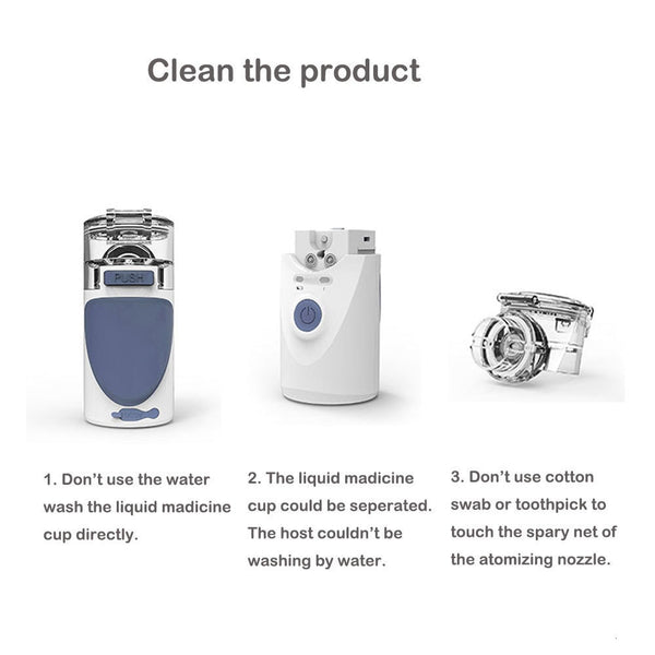 Ultrasonic Nebuliser Asthma Inhaler