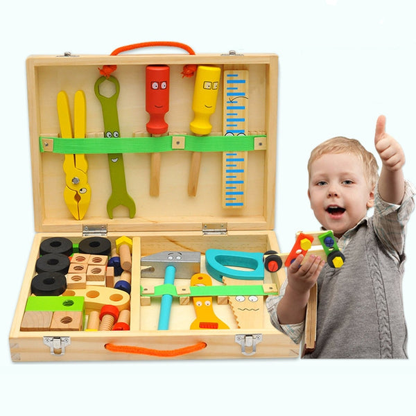 My First Tool Box - Montessori Toys