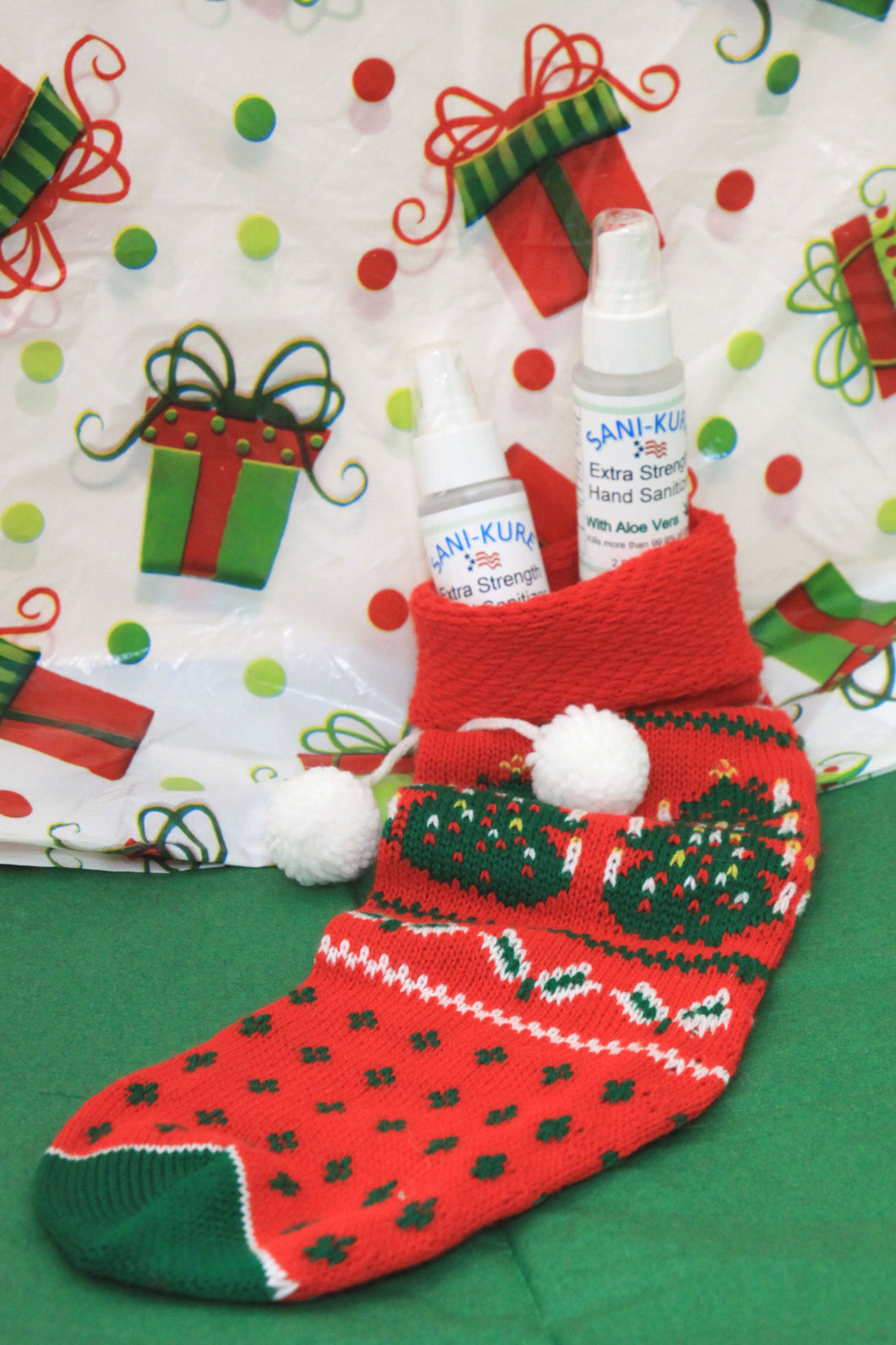 Perfect Stocking Stuffer! 2 oz Hand Sanitizer Spray, Extra Strength w/ Aloe Vera for Moisturizing, Single Bottle.