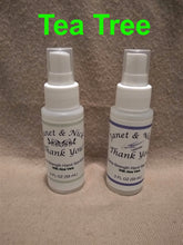 Load image into Gallery viewer, Custom Labeled Hand Sanitizer Wedding Favors, Party Favors (50 Bottles x 2oz) TEA TREE