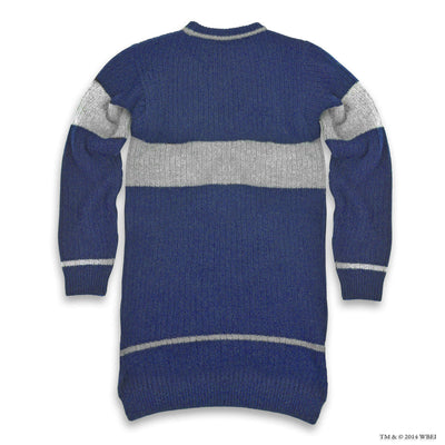 Ravenclaw Quidditch Knitted Adult Jumper back