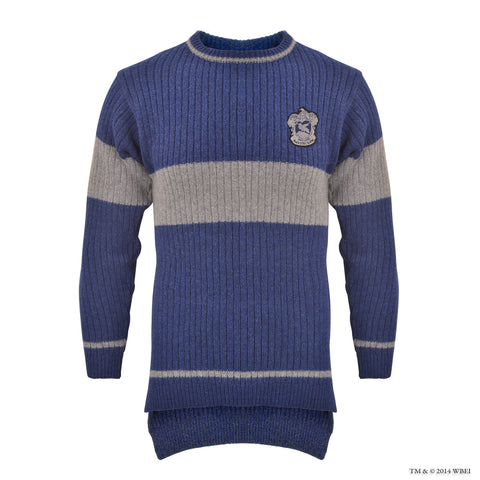 Ravenclaw™ Quidditch™ Knitted Adult Jumper