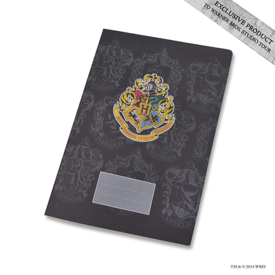 Hogwarts School Crest Exercise Book