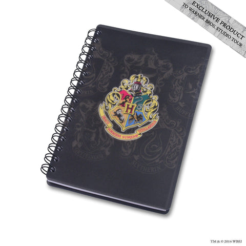 Hogwarts School Crest Spiral Notebook