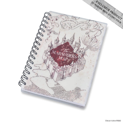 Marauders Map Spiral Notebook