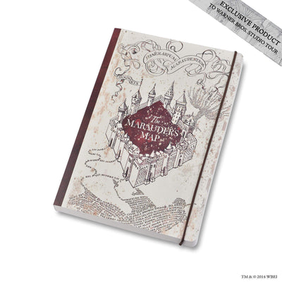 Marauders Map Notebook