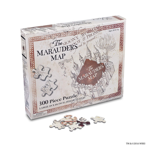 Marauder's Map 300 Piece Puzzle