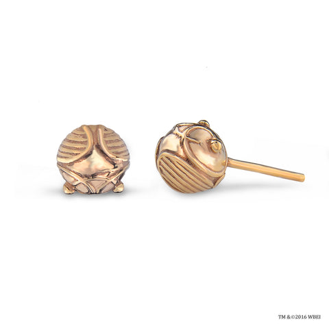 Golden Snitch Stud Earrings