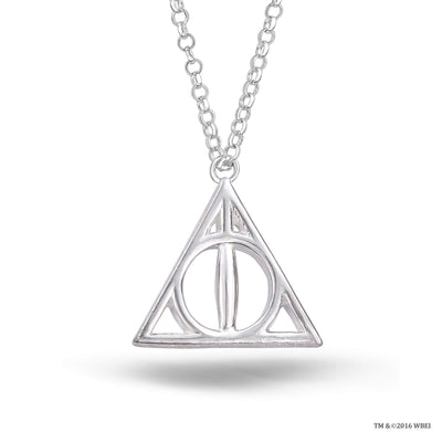 Deathly Hallows Sterling Silver Necklace