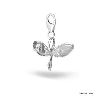 Flying Key Sterling Silver Clip on Charm