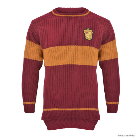 Gryffindor™ Quidditch™ Knitted Adult Jumper