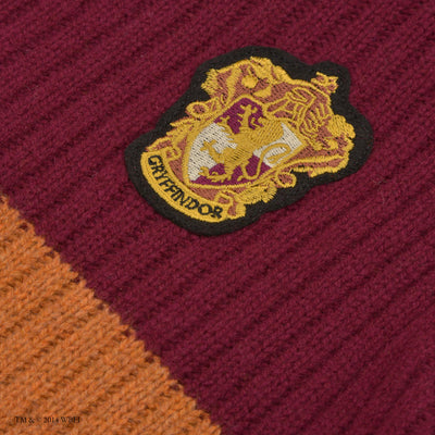 Gryffindor Quidditch Knitted Adult Jumper front