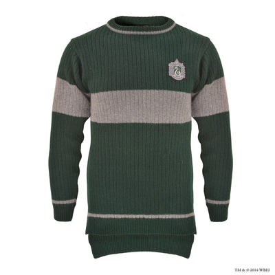 Slytherin Quidditch Knitted Adult Jumper