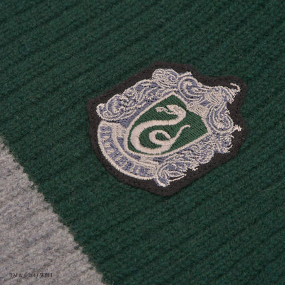 Slytherin Quidditch Knitted Adult Jumper front