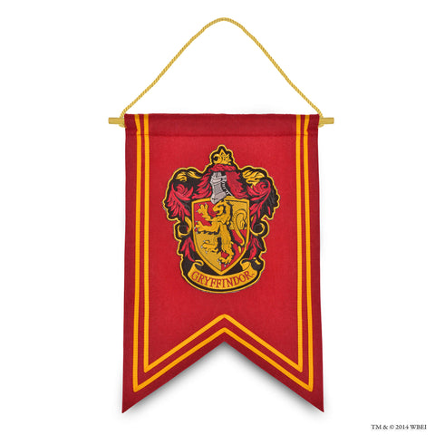 Gryffindor Crest Embroidered Banner