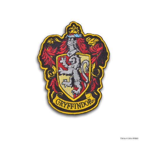 Gryffindor Crest Embroidered Patch