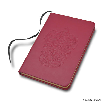 Gryffindor Crest Embossed Journal