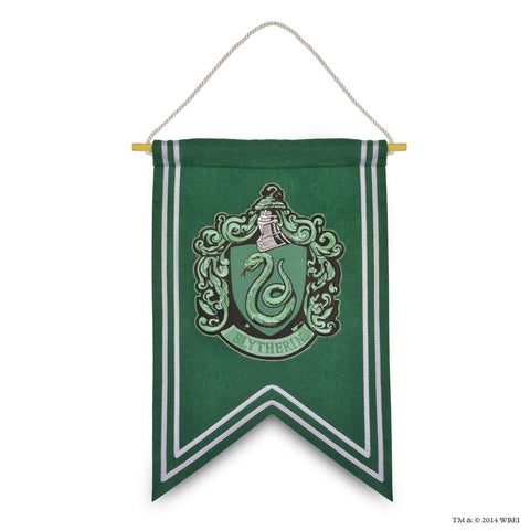 Slytherin Crest Embroidered Banner