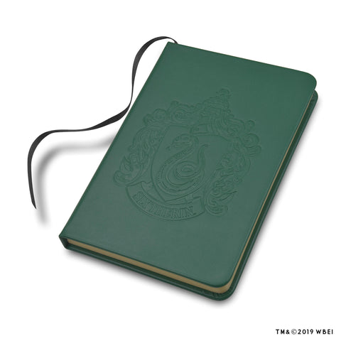 Personalised Slytherin Crest™ Embossed Journal