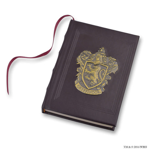 Gryffindor Metal Crest Journal