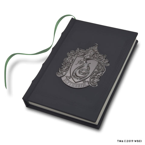 Slytherin Metal Crest Journal