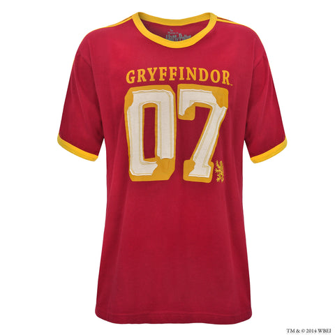 Gryffindor Adult's Jersey T-Shirt