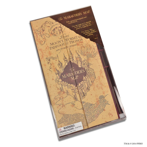 marauders map interactive toy in the box
