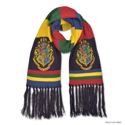 Embroidered Hogwarts Scarf