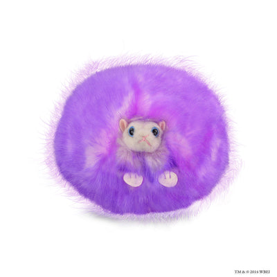 purple pygmy puff plush with sound