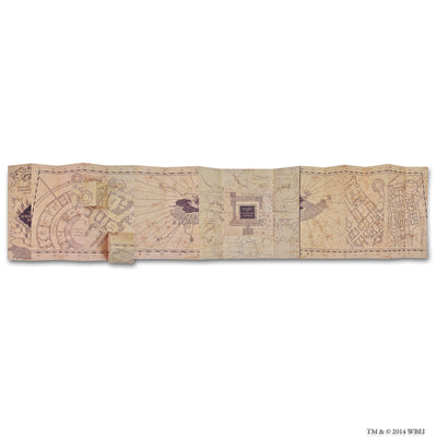 Replica Marauder's Map inside