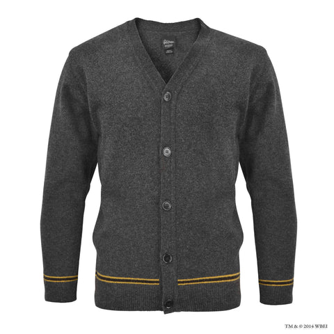 Hufflepuff V-Neck School Cardigan