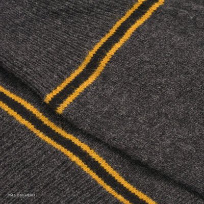 Hufflepuff V-Neck School Cardigan sleeve