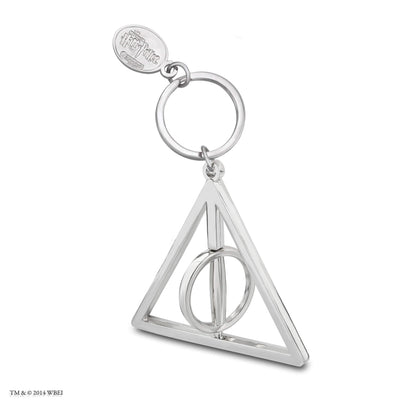Deathly Hallows Spinner Keychain spinning