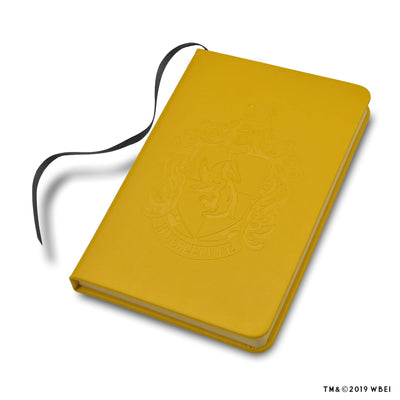 Hufflepuff Crest Embossed Journal
