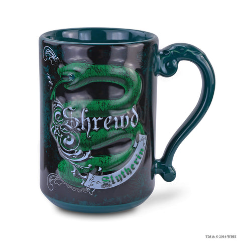 Slytherin Sculpted House Attribute Mug