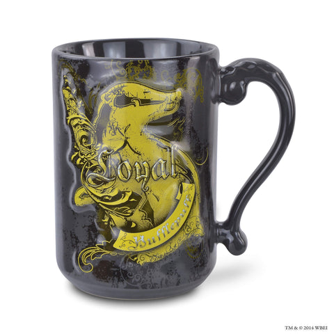 Hufflepuff Sculpted House Attribute Mug