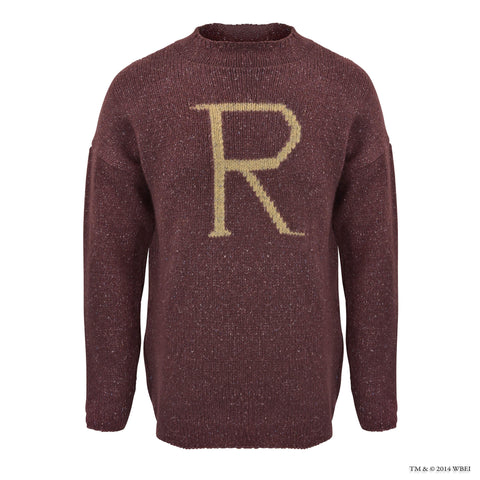 'R' for Ron Weasley Knitted Jumper