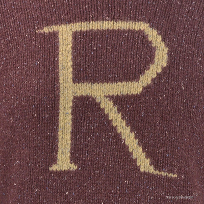 'R' for Ron Weasley Knitted Jumper front