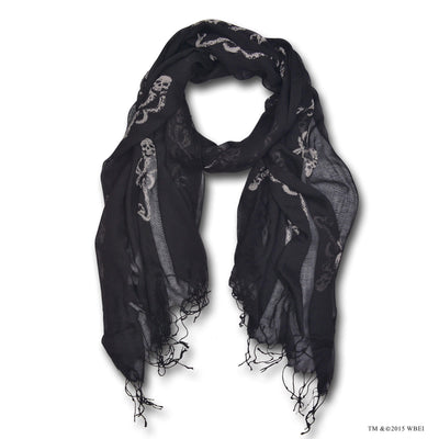 Small Print Dark Mark Scarf