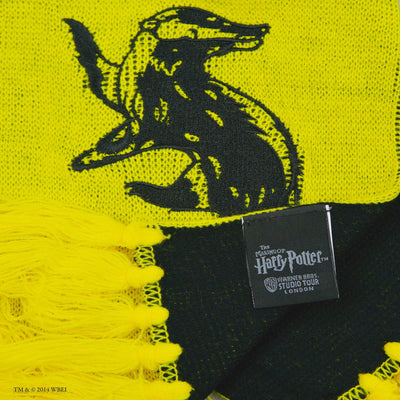 Hufflepuff Reversible Scarf with tag