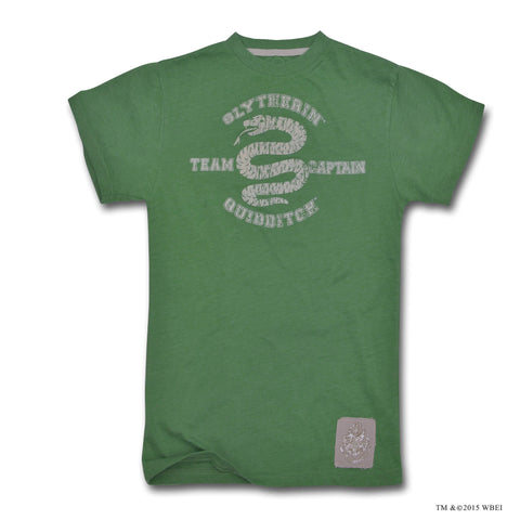 Children's Slytherin Quidditch Team Captain T-shirt