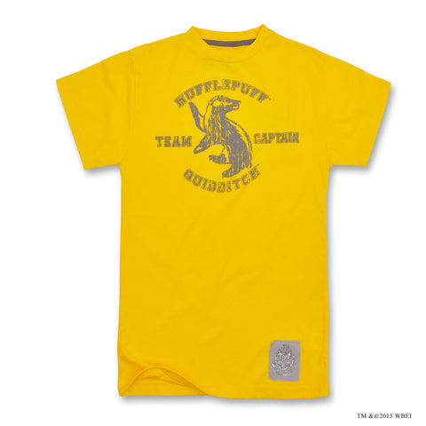 Children's Hufflepuff Quidditch Team Captain T-shirt